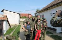 Návšteva vojakov z Vojenského útvaru Hlohovec.